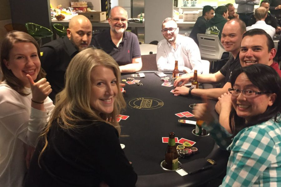 Norman Disney Young Poker Night