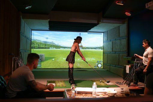 Golfzon Simulator 1 Bucks Party Ideas Melbourne