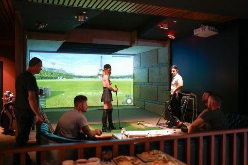 Golfzon Simulator 2 Bucks Party Ideas Melbourne