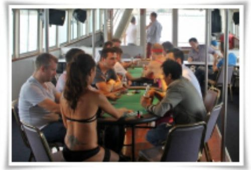 Boat Cruise Lingerie Poker Dealer Bucks Party Ideas Sydney