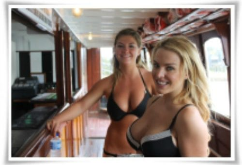 Boat Cruise Lingerie Waitresses Bucks Party Ideas Sydney