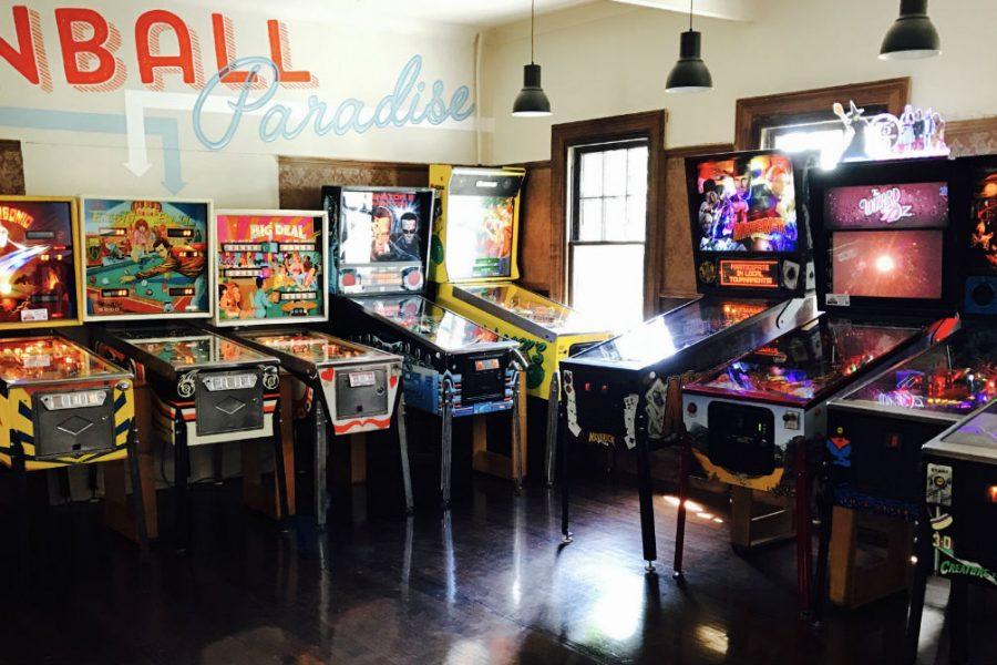 Pokerdeluxe venues - Pinball Paradise
