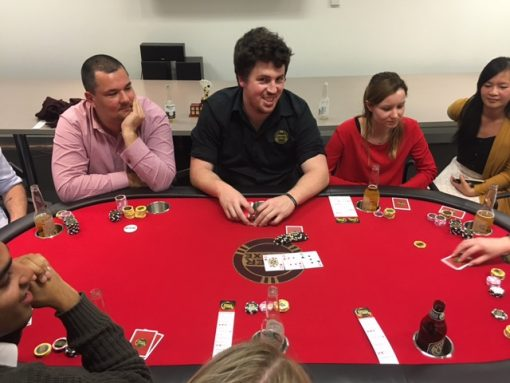 MAB Poker Night 9 Teambuilding Ideas Melbourne