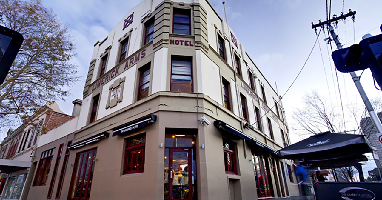 Pokerdeluxe venues - Limerick Arms Hotel Building